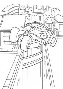 kleurplaat Batman (48)