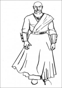 coloring page Batman (5)
