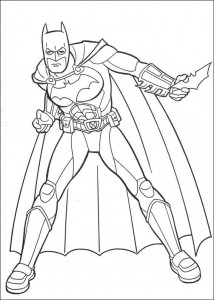 coloring page Batman (7)