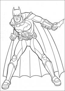 kleurplaat Batman (7)