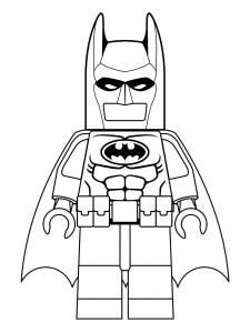 batman film målarbok