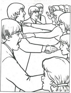 coloring page Beatles (2)