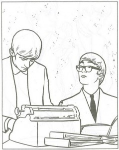 kleurplaat Beatles (3)