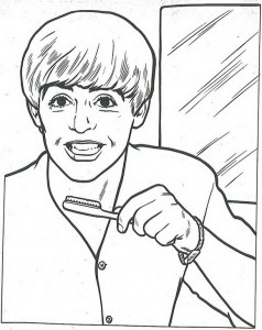 coloring page Beatles (4)