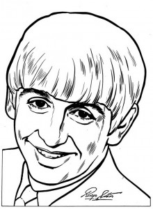 coloring page Beatles (7)