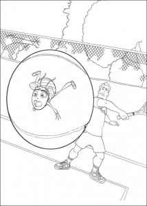 coloring page Bee-film (11)