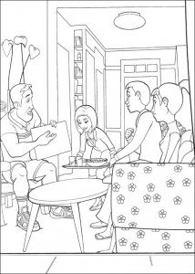 coloring page Bee-film (16)