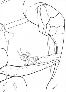coloring page Bee-film (17)