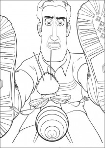 coloring page Bee-film (18)
