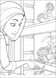 coloring page Bee-film (19)