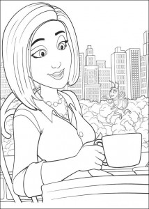 coloring page Bee-film (20)