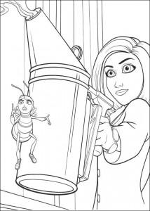 Disegno da colorare film d'api (32)