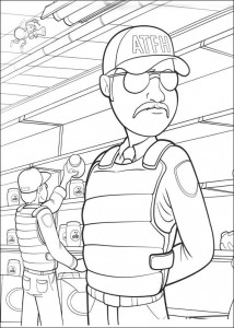 coloring page Bee movie (33)