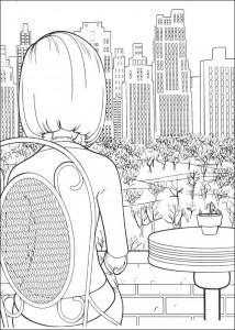 coloring page Bee movie (36)