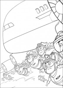 coloring page Bee movie (38)