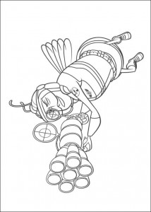 coloring page Bee-film (4)