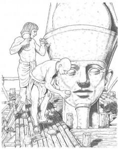Malvorlage Bildhauer