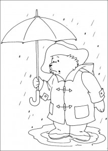 coloring page Paddington Bear (10)