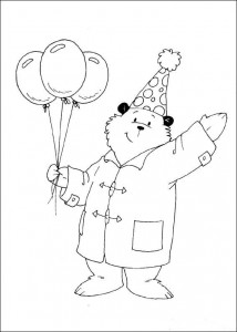 coloring page Paddington Bear (3)