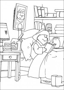 målarbok Paddington Bear (4)