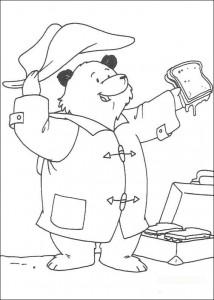 målarbok Paddington Bear (7)