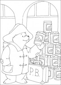 coloring page Paddington Bear (8)