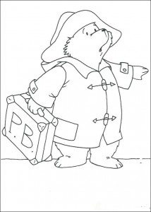 coloring page Paddington Bear (9)