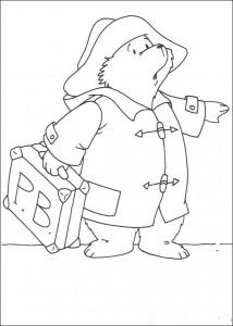 målarbok Paddington Bear (9)