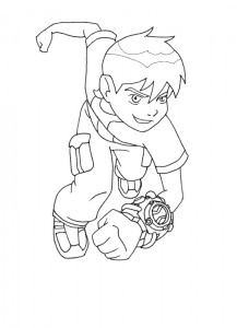 coloring page Ben 10 (11)