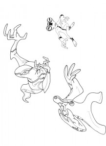 coloring page Ben 10 (13)