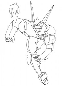 coloring page Ben 10 (14)