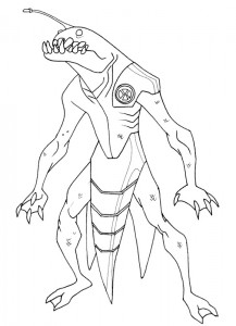 coloring page Ben 10 (15)
