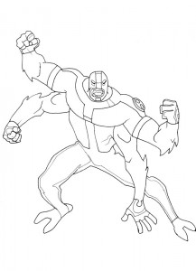 coloring page Ben 10 (17)