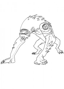 coloring page Ben 10 (18)
