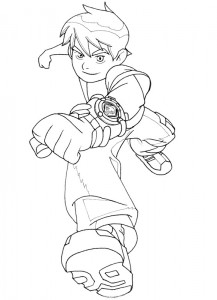 coloring page Ben 10 (19)