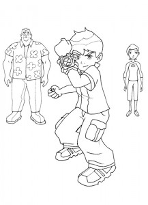 coloring page Ben 10 (20)