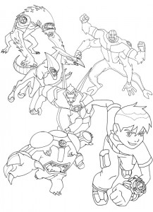 coloring page Ben 10 (21)