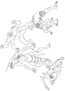 coloring page Ben 10 (23)
