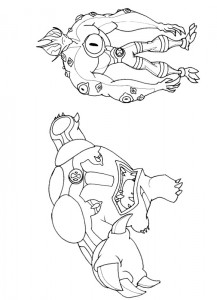 coloring page Ben 10 (24)