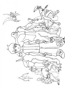 coloring page Ben 10 (25)