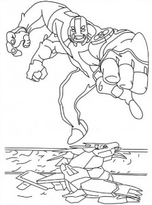 coloring page Ben 10 (3)