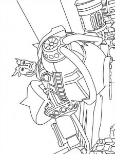 coloring page Ben 10 (4)