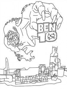 coloring page Ben 10 (5)