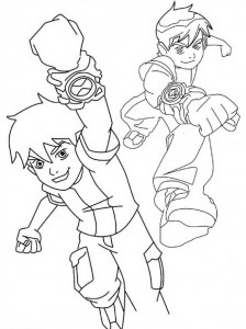 coloring page Ben 10 (6)