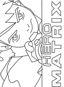coloring page Ben 10 (7)