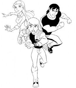 coloring page Ben 10 (8)