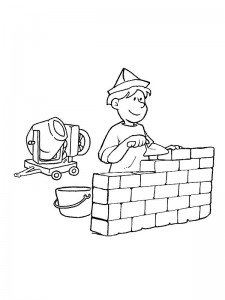coloring page Professions (1)