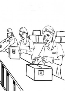coloring page Professions (10)