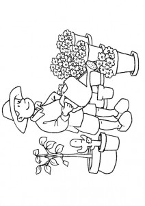 coloring page Professions (17)