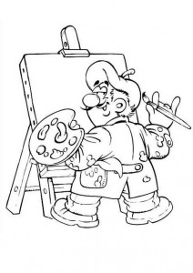coloring page Professions (21)